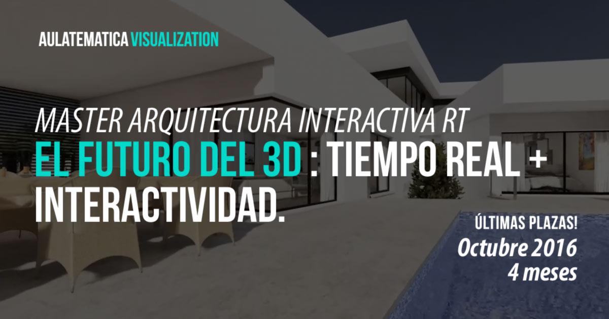 Master arquitectura y realidad virtual con unreal online for Arquitectura virtual